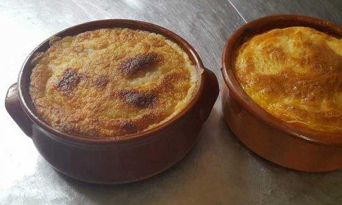Moussaka link to the Greek Kitchen Menu